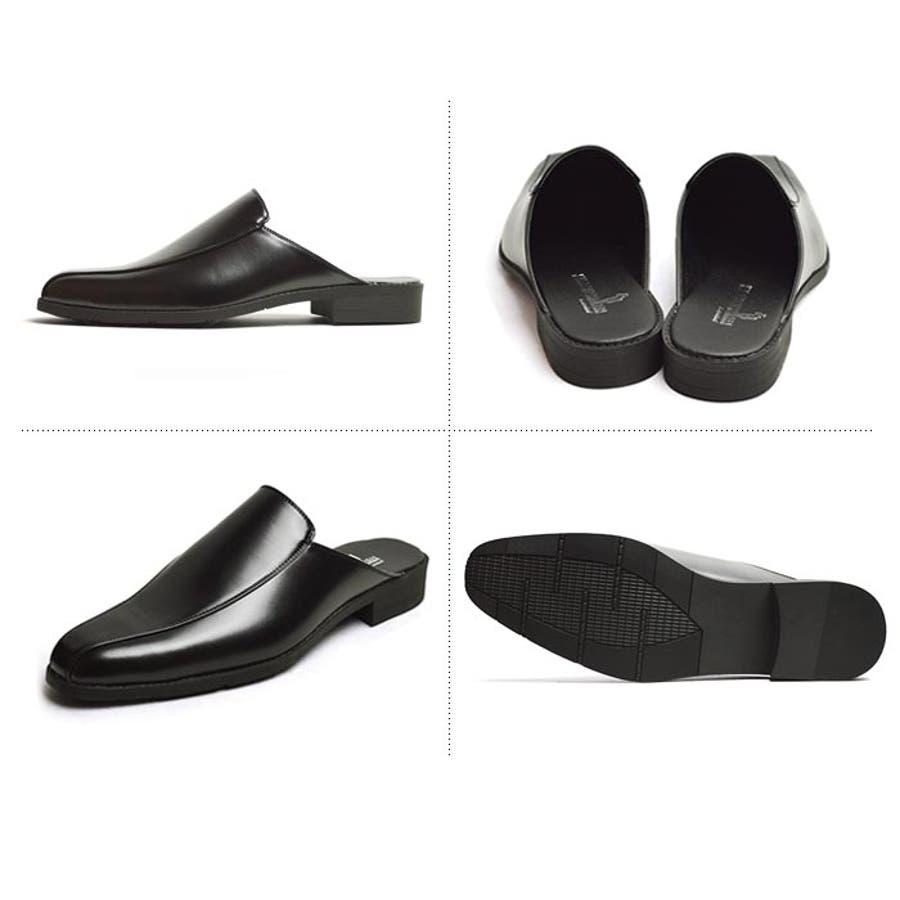 ビジネスサンダル ビジネスシューズ メンズ 革靴 スリッポン ストレートチップ スワールモカ ウィングチップ 軽量 防滑かかとなしスリップオン 紳士靴 6