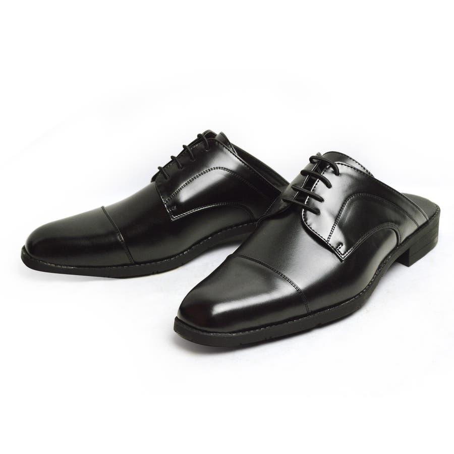 ビジネスサンダル ビジネスシューズ メンズ 革靴 スリッポン ストレートチップ スワールモカ ウィングチップ 軽量 防滑かかとなしスリップオン 紳士靴 21