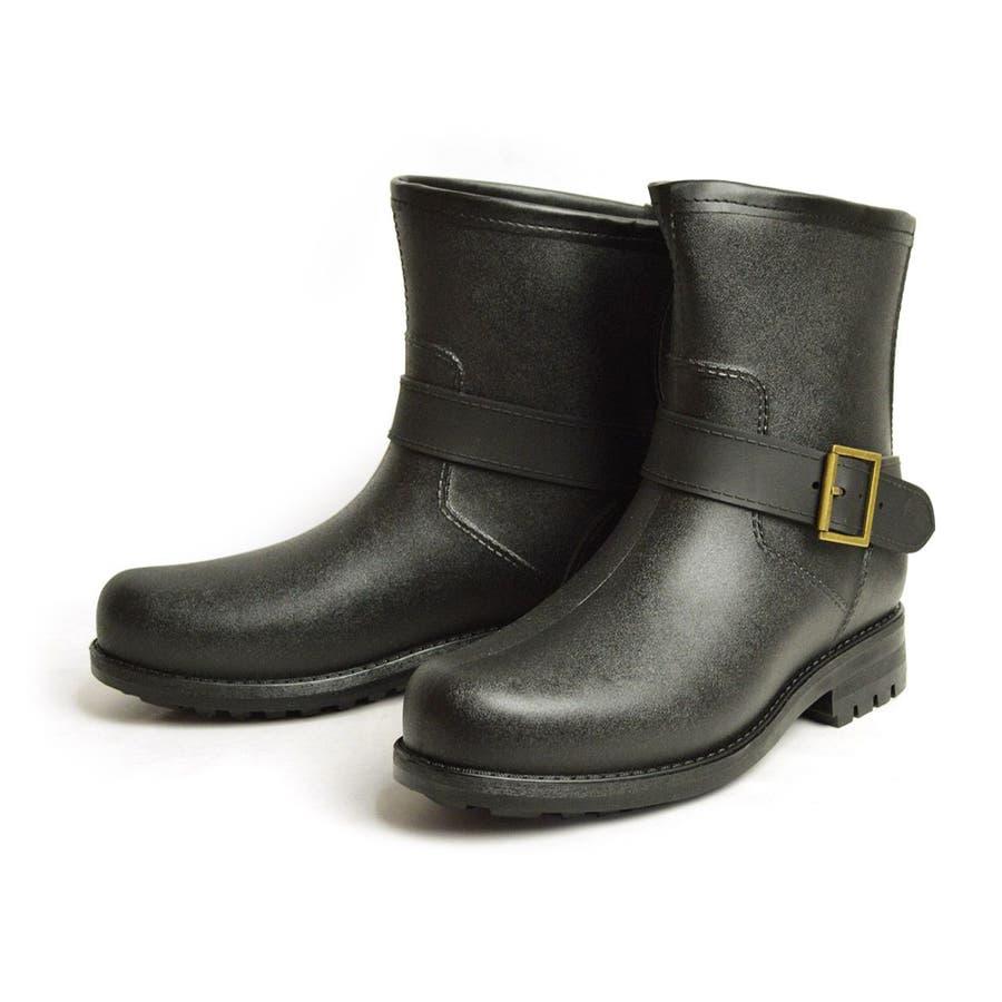 レインブーツ メンズ 防水 ショートブーツ 長靴 メンズブーツ スノーシューズ スノーブーツ ワークブーツ コンフォート 靴メンズシューズ 2