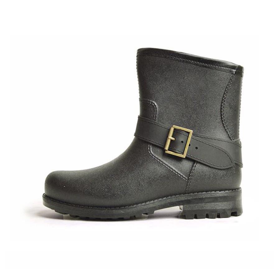 レインブーツ メンズ 防水 ショートブーツ 長靴 メンズブーツ スノーシューズ スノーブーツ ワークブーツ コンフォート 靴メンズシューズ 4