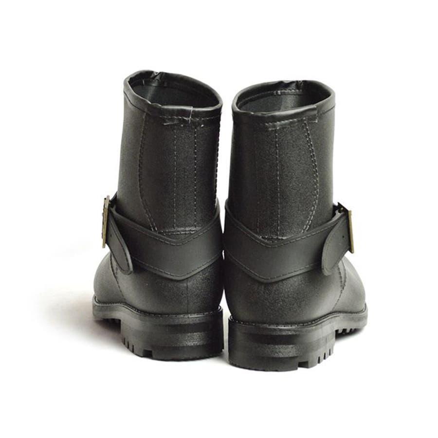 レインブーツ メンズ 防水 ショートブーツ 長靴 メンズブーツ スノーシューズ スノーブーツ ワークブーツ コンフォート 靴メンズシューズ 6