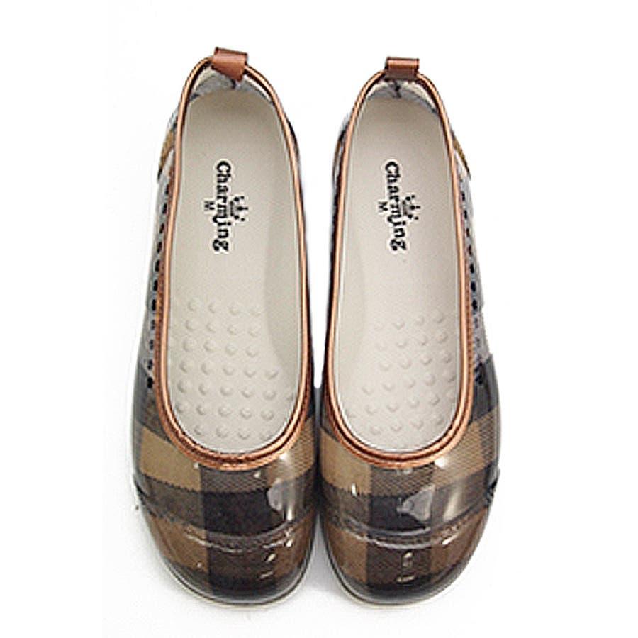 レインシューズ バレエシューズ レディース レインパンプス 防水 ローヒール 痛くない ぺたんこ 日本製 撥水 疲れにくい歩きやすい黒ブラック 通学 滑り止め 雨靴 雨 梅雨 レディース靴 40