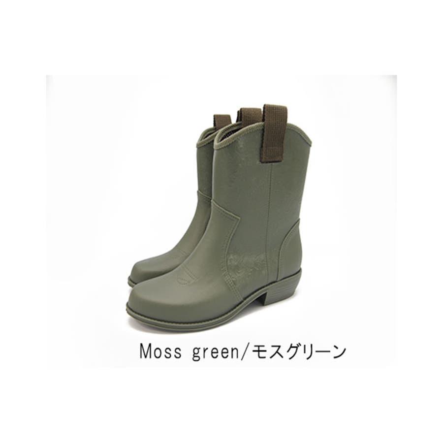 レインシューズ レディース レインブーツ 防水 日本製 ラバーブーツ 長靴 ショートブーツ 歩きやすい 疲れにくい ナチュラル 抗菌黒ブラック おしゃれ かわいい レディース靴 53