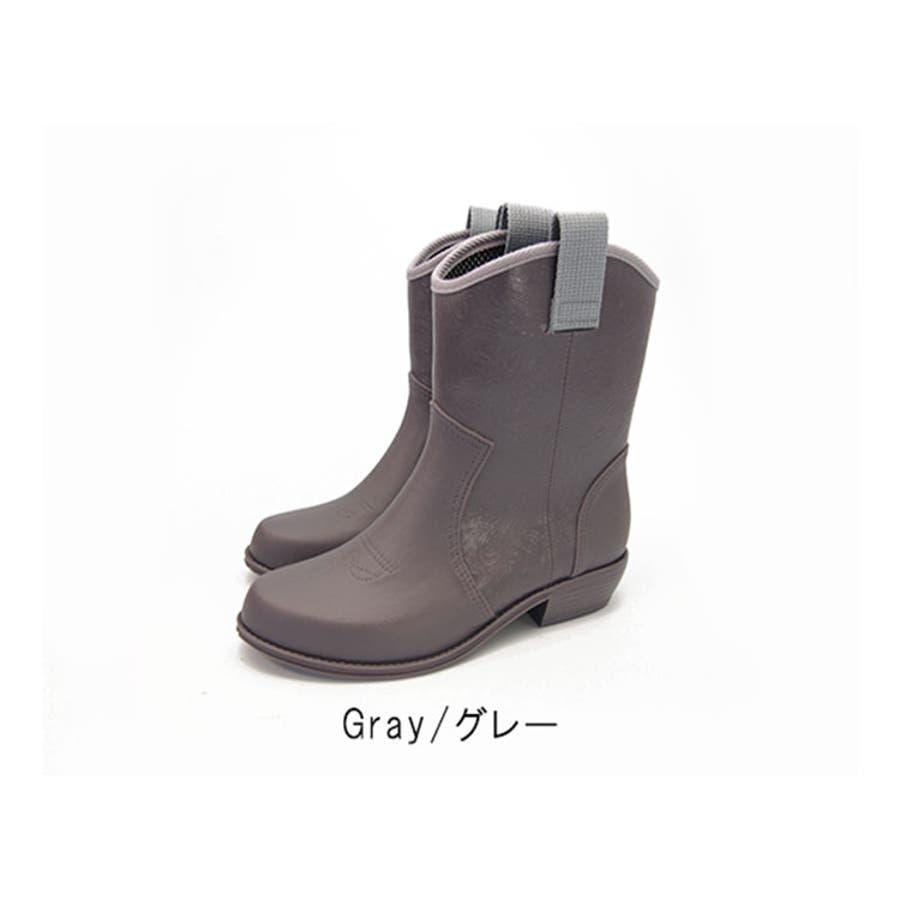 レインシューズ レディース レインブーツ 防水 日本製 ラバーブーツ 長靴 ショートブーツ 歩きやすい 疲れにくい ナチュラル 抗菌黒ブラック おしゃれ かわいい レディース靴 23