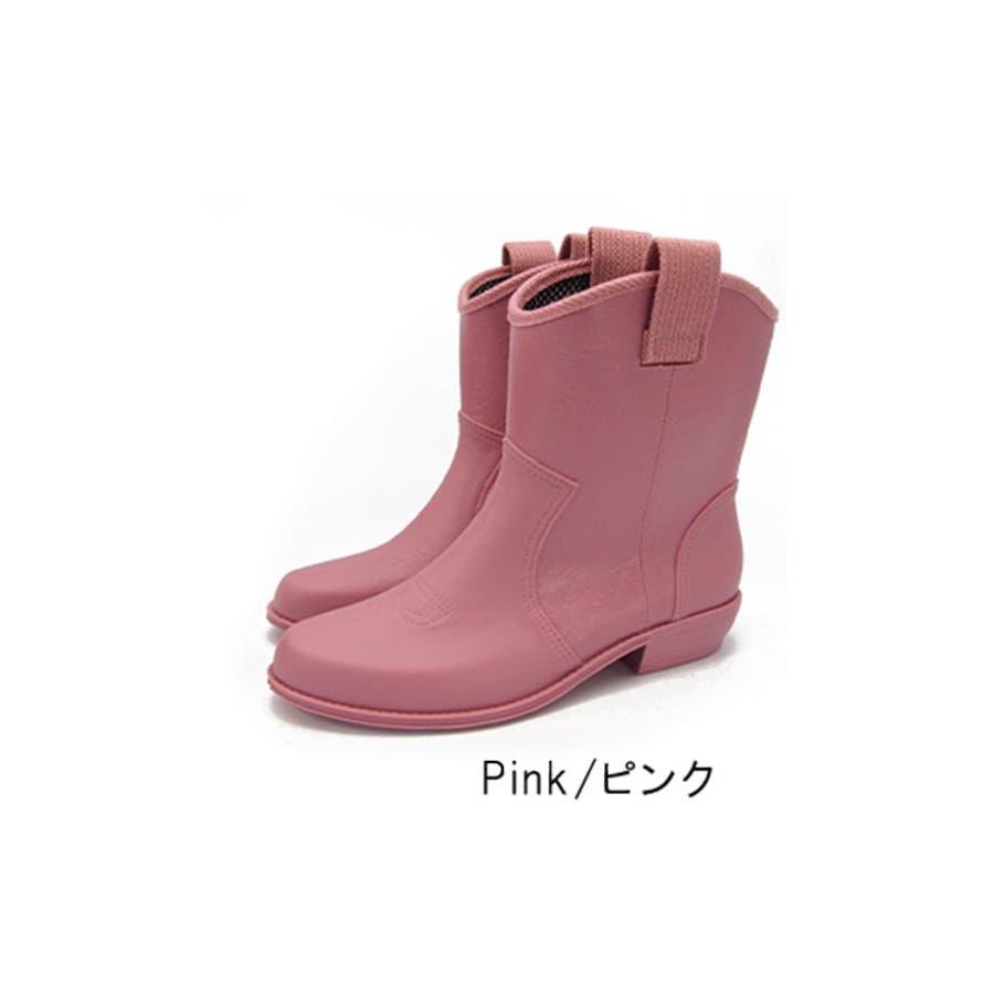 レインシューズ レディース レインブーツ 防水 日本製 ラバーブーツ 長靴 ショートブーツ 歩きやすい 疲れにくい ナチュラル 抗菌黒ブラック おしゃれ かわいい レディース靴 87