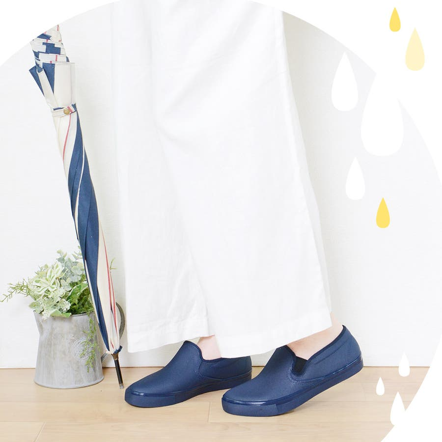 レインシューズ レディース フラットシューズ ローヒール 痛くない 日本製 ぺたんこ サイドゴア 歩きやすい 疲れにくいスリッポンカジュアル ストレスフリー インソール おしゃれ かわいい レディース靴 6