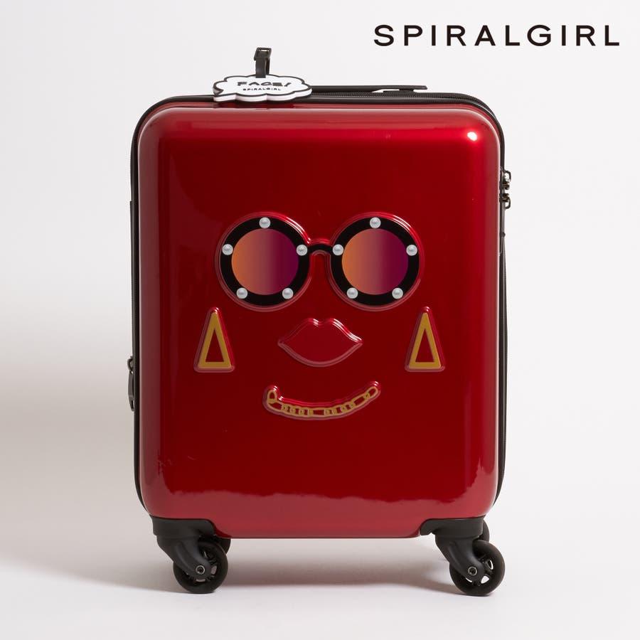 【SPIRALGIRLスパイラルガール】フェイスポイントハードキャリー【機内持ち込み可】 94