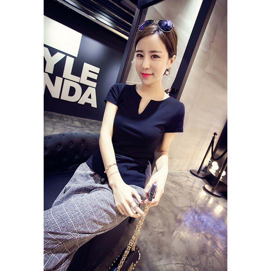 レディース 服 ファッション 女性 サイズ カラー ブラック ホワイト M,L VT01 1