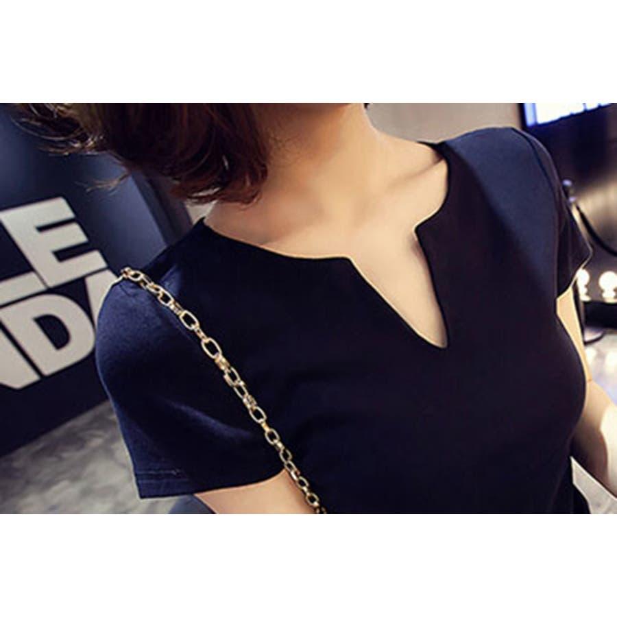 レディース 服 ファッション 女性 サイズ カラー ブラック ホワイト M,L VT01 5