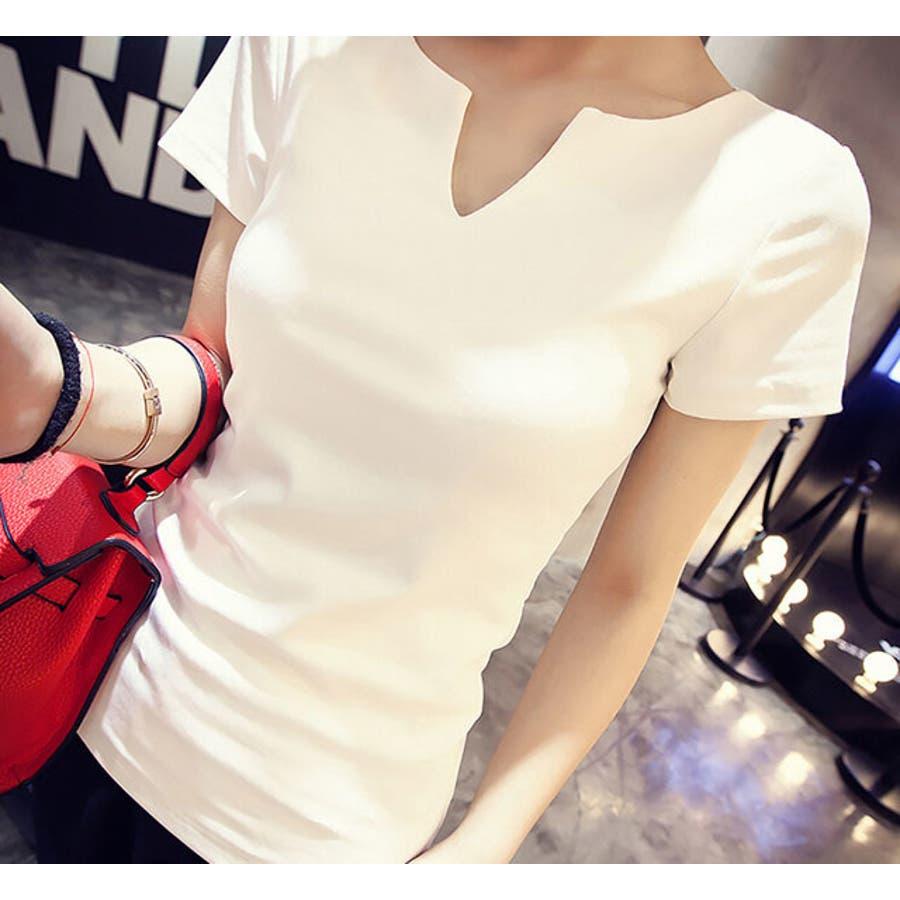 レディース 服 ファッション 女性 サイズ カラー ブラック ホワイト M,L VT01 7