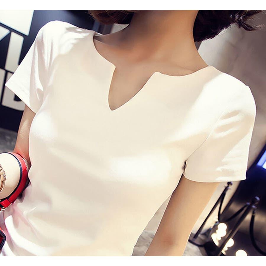 レディース 服 ファッション 女性 サイズ カラー ブラック ホワイト M,L VT01 8