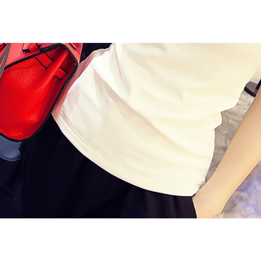 レディース 服 ファッション 女性 サイズ カラー ブラック ホワイト M,L VT01 10