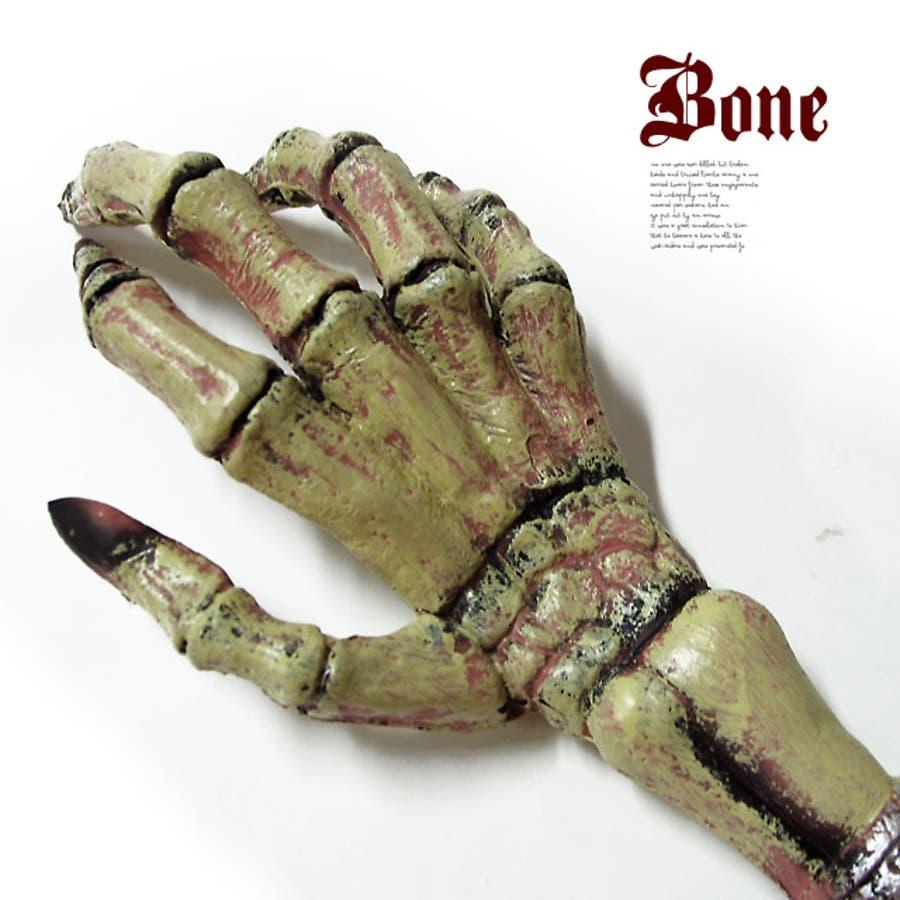 ハロウィン 骸骨の手 フェイクボーン ハンド ホラー オフィス 2