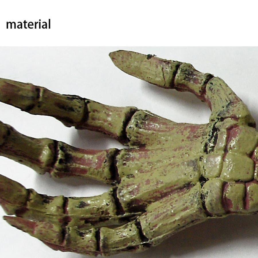 ハロウィン 骸骨の手 フェイクボーン ハンド ホラー オフィス 7
