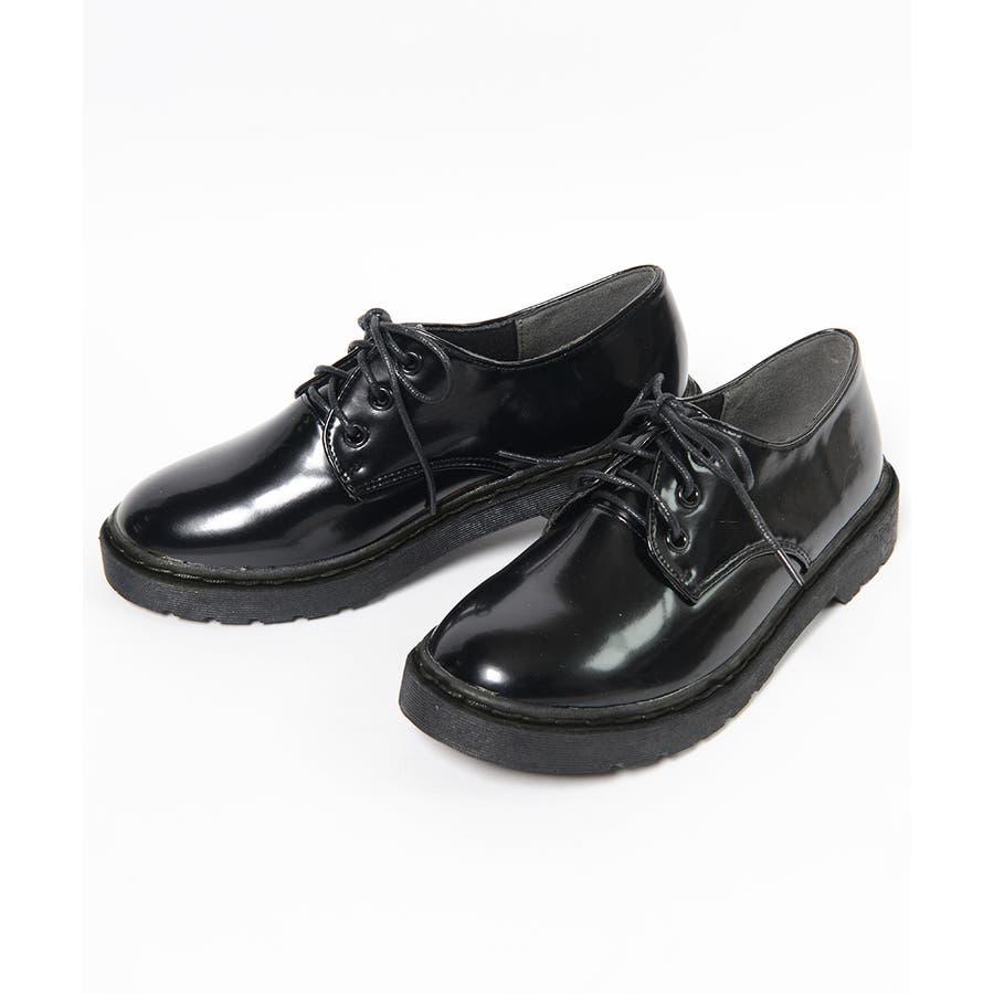 秋新作 レースアップブーツ 靴 ブーツ ブラック ローヒール フラット 雪 マーチン風 レディース ドレス 2