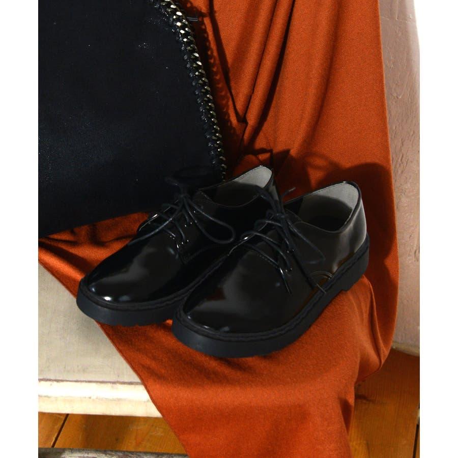 秋新作 レースアップブーツ 靴 ブーツ ブラック ローヒール フラット 雪 マーチン風 レディース ドレス 21