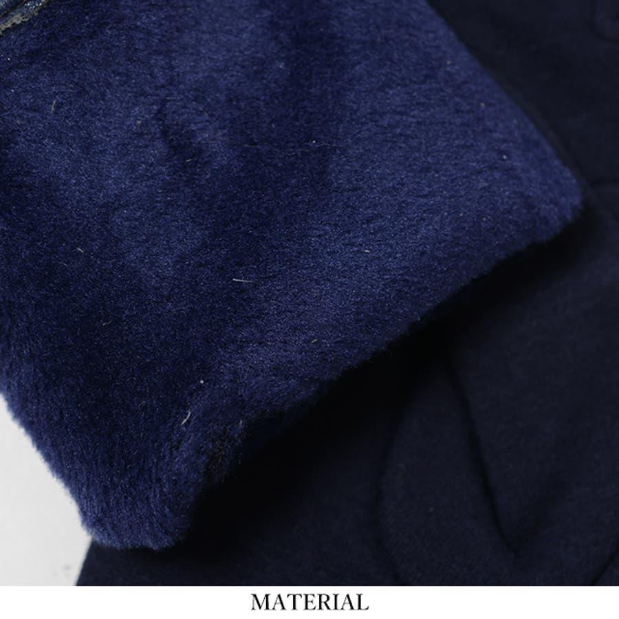 春新作 リボン付き裏起毛グローブ ma 小物 手袋 レディース 裏起毛 リボン 7