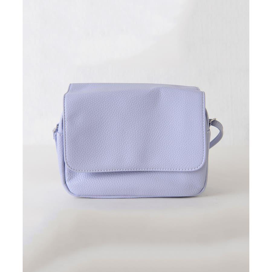 秋新作 シンプルスクエアショルダーバッグ バッグ 鞄 シンプル スクエア コンパクト ミニバッグ ショルダーバッグ レディース 3