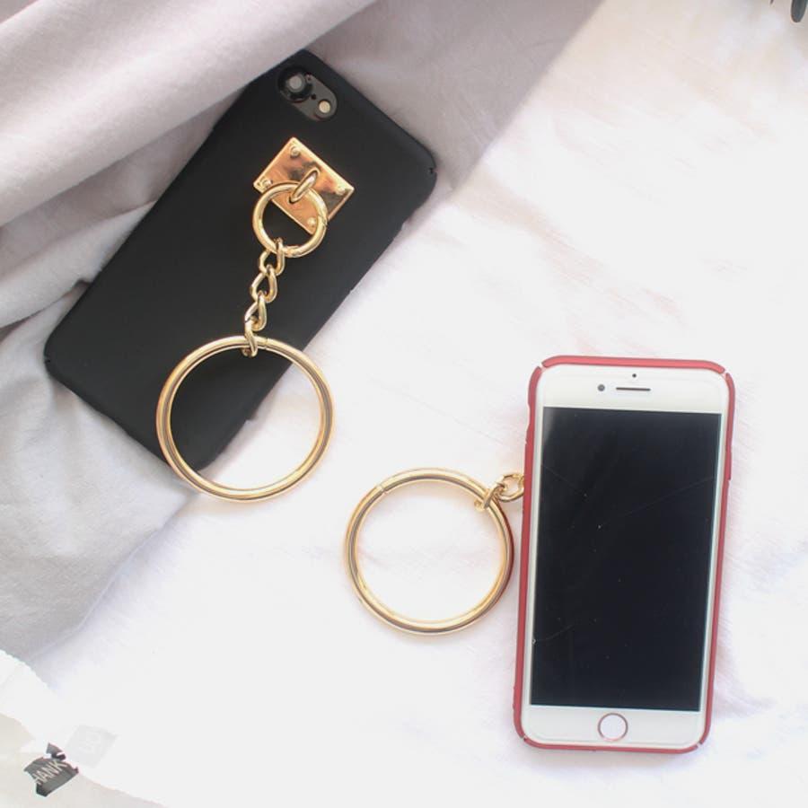 春新作 リング付きiPhoneケース ma 6
