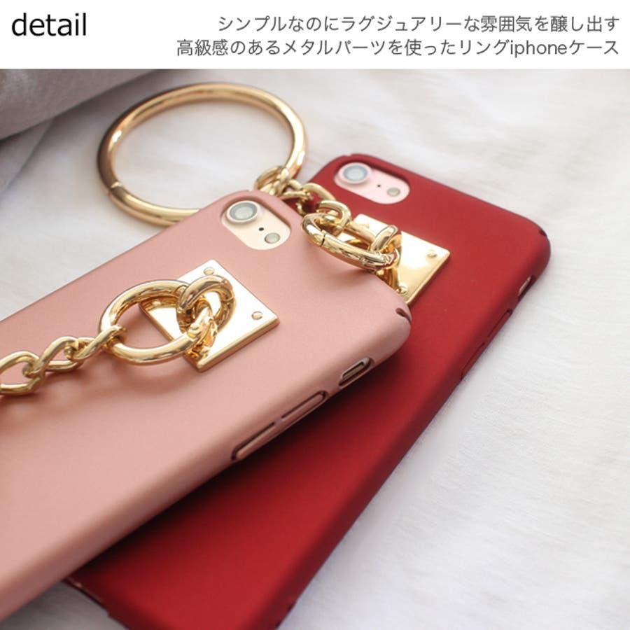 春新作 リング付きiPhoneケース ma 8