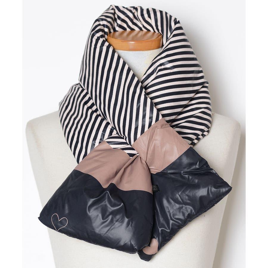 秋新作 ダウンマフラー マフラー ダウン ティペット 小物 ネックウォーマー レディース 韓国ファッション 108