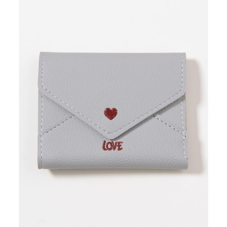 秋新作 レター型ミニウォレット ma 小物 財布 レディース 二つ折り財布 折り財布 ミニ財布 レター型 23