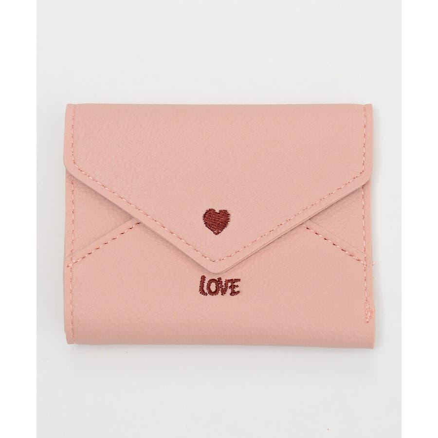 秋新作 レター型ミニウォレット ma 小物 財布 レディース 二つ折り財布 折り財布 ミニ財布 レター型 87