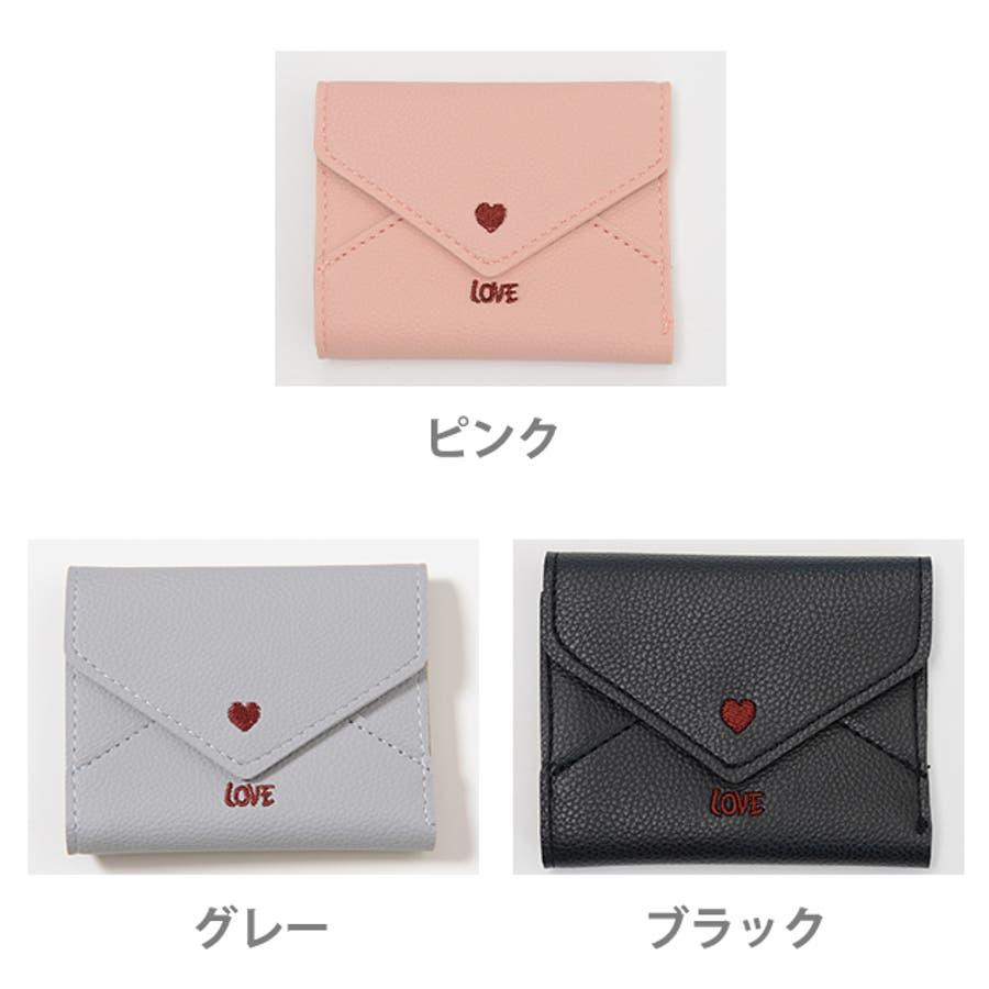 秋新作 レター型ミニウォレット ma 小物 財布 レディース 二つ折り財布 折り財布 ミニ財布 レター型 2