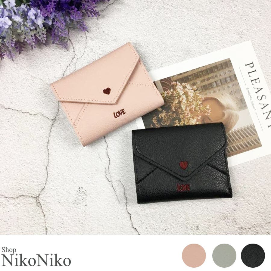 秋新作 レター型ミニウォレット ma 小物 財布 レディース 二つ折り財布 折り財布 ミニ財布 レター型 1