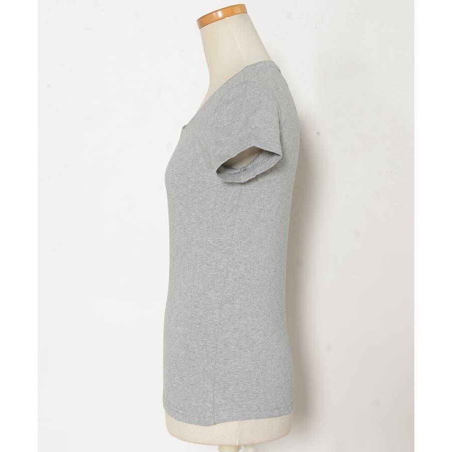 春新作 シンプルクルーネックTシャツ ma 8