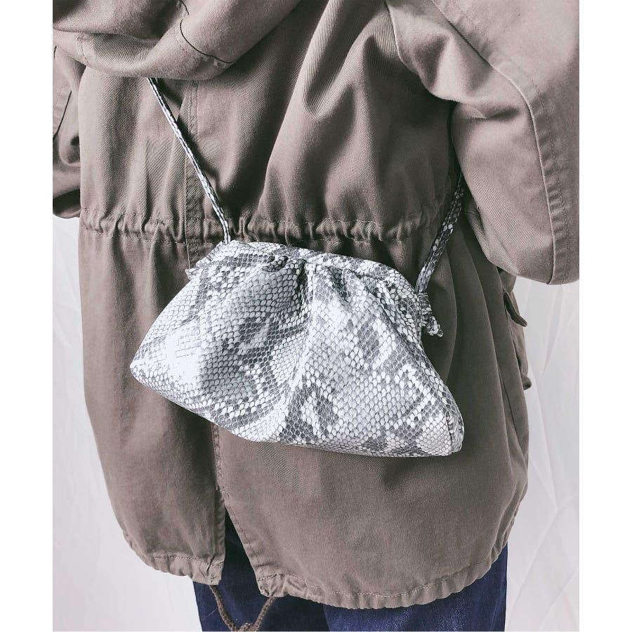 冬新作 パイソンがま口ショルダーバッグ バッグ 鞄 ショルダー ハンド パイソン がま口 クラッチ ミニバッグ コンパクトレディース韓国ファッション 21