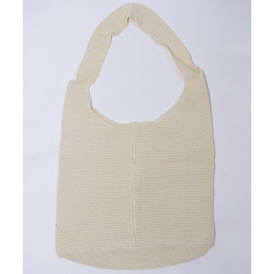 秋新作 ワンショルダーニットバッグ バッグ ショルダー ニット 鞄 シンプル カジュアル レディース 韓国ファッション 10