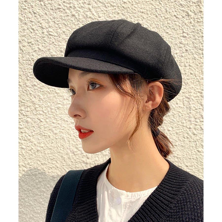 冬新作 キャスケット 帽子 ハット キャスケット カジュアル フェミニン シンプル 上品 レディース 韓国ファッション 4