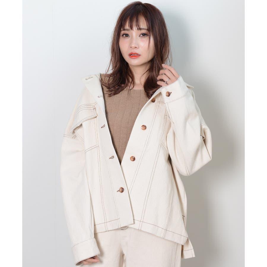 秋新作 BIGジャケット アウター ジャケット セットアップ オーバーサイズ BIG ゆったり シンプル レディース 韓国ファッション 18