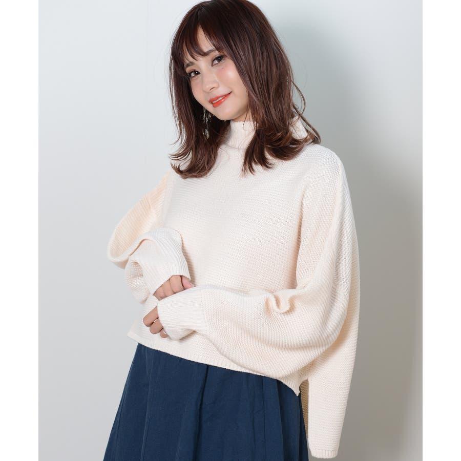 春新作 横編ニットセーター トップス 17