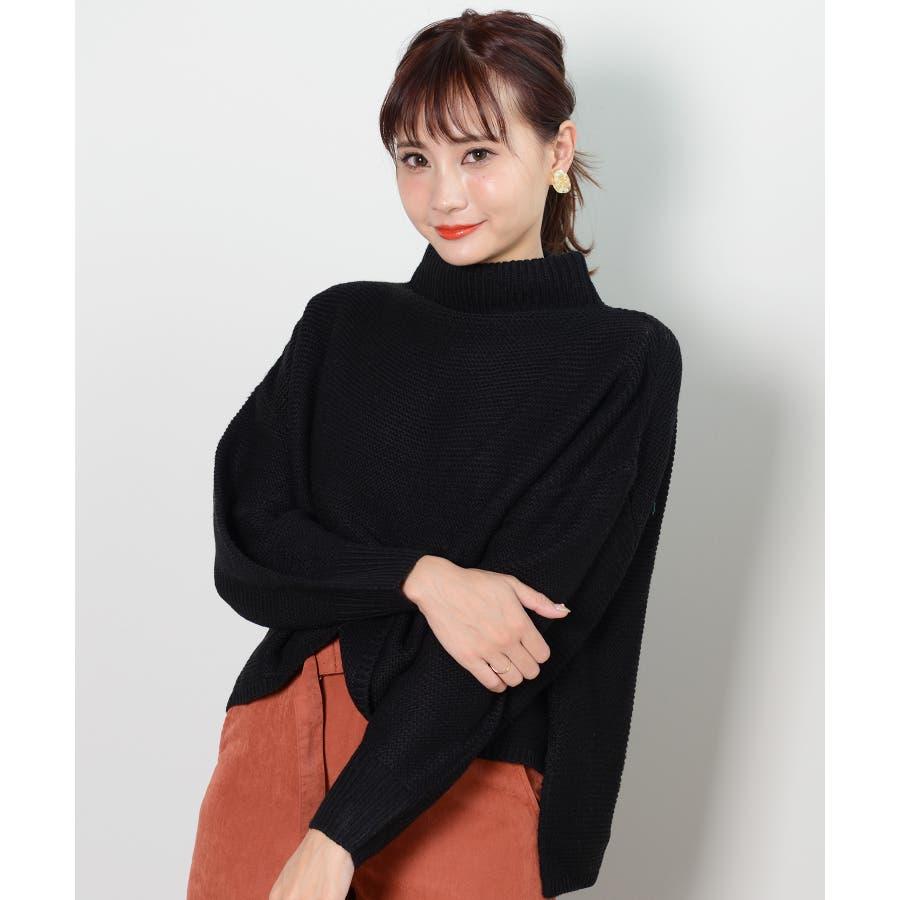 春新作 横編ニットセーター トップス 21