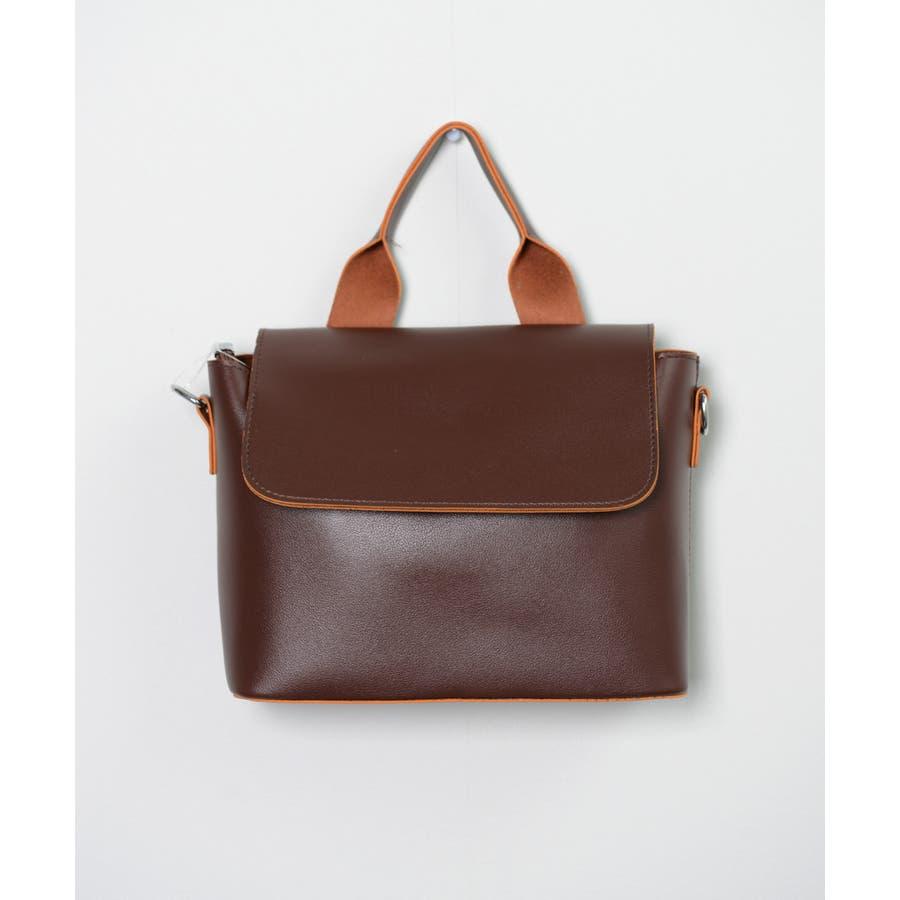 秋新作 スクエアバッグ 鞄 バッグ スクエア ハンド ショルダー ワンハンドル シンプル レディース 韓国ファッション 4
