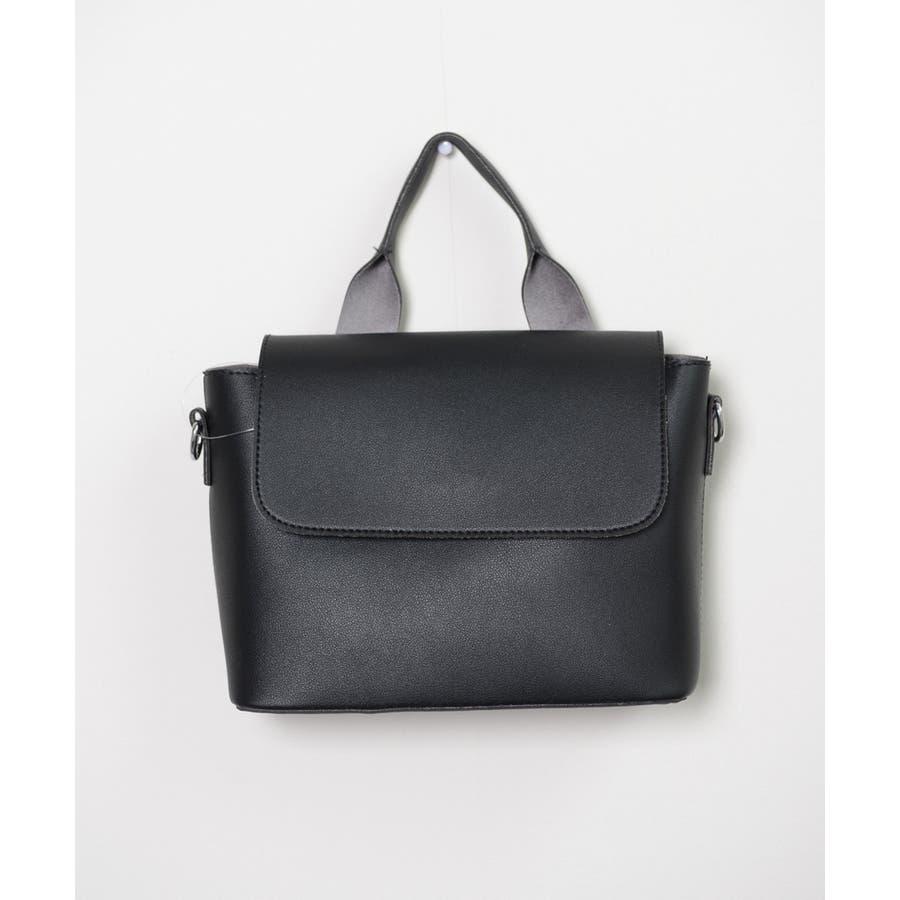 秋新作 スクエアバッグ 鞄 バッグ スクエア ハンド ショルダー ワンハンドル シンプル レディース 韓国ファッション 5
