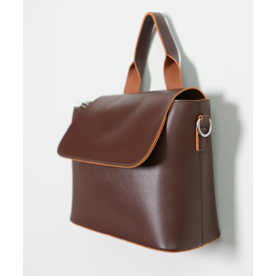秋新作 スクエアバッグ 鞄 バッグ スクエア ハンド ショルダー ワンハンドル シンプル レディース 韓国ファッション 6