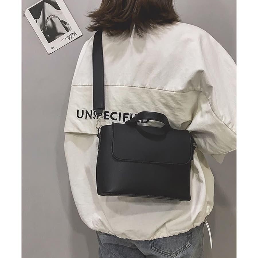 秋新作 スクエアバッグ 鞄 バッグ スクエア ハンド ショルダー ワンハンドル シンプル レディース 韓国ファッション 21