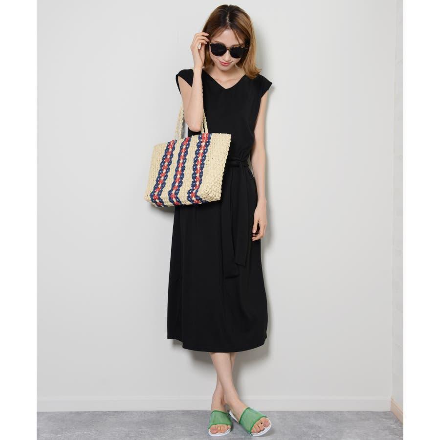 秋新作 ペーパートートバッグ 鞄 バッグ トート かご ペーパー トートバッグ 肩掛け レディース 韓国ファッション 18