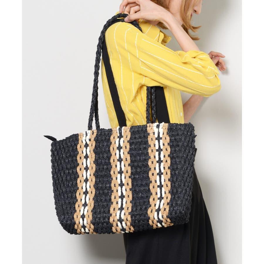 秋新作 ペーパートートバッグ 鞄 バッグ トート かご ペーパー トートバッグ 肩掛け レディース 韓国ファッション 21