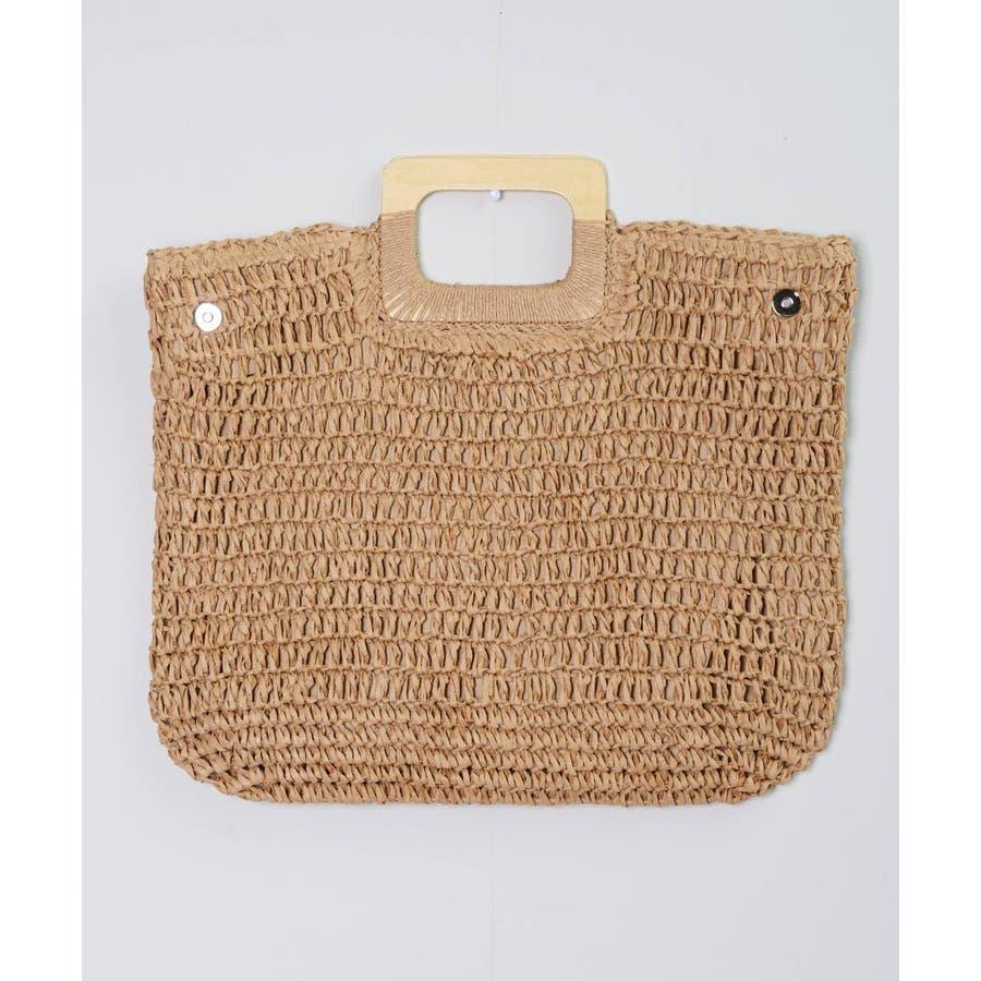 秋新作 ペーパーハンドバッグ バッグ 鞄 ペーパー かご ミニバッグ ハンド シンプル コンパクト ミニ 韓国ファッション レディース 3