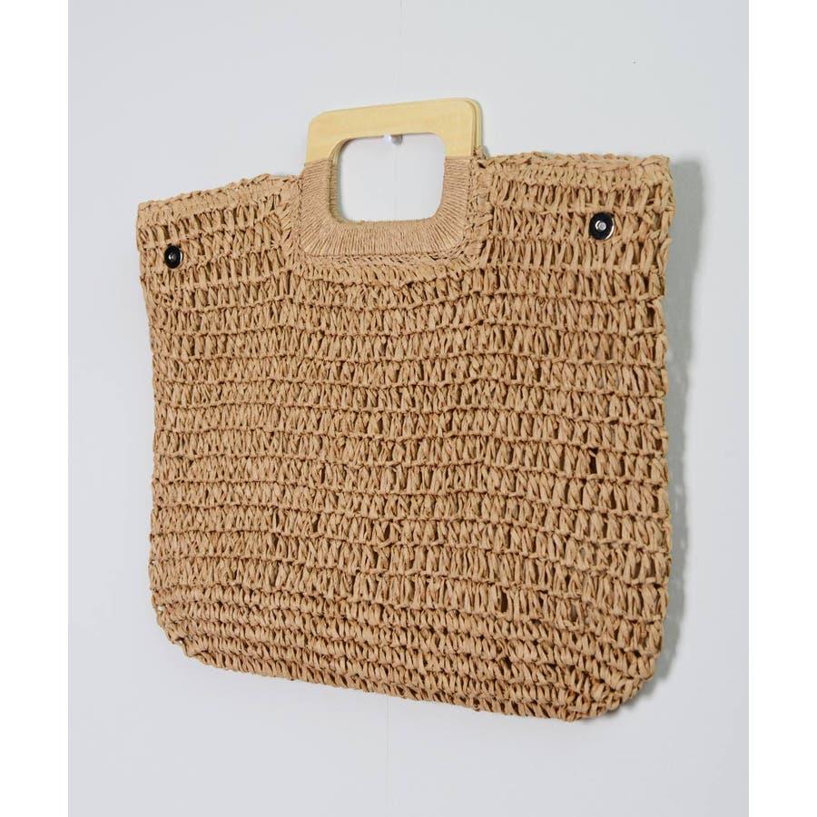 秋新作 ペーパーハンドバッグ バッグ 鞄 ペーパー かご ミニバッグ ハンド シンプル コンパクト ミニ 韓国ファッション レディース 4