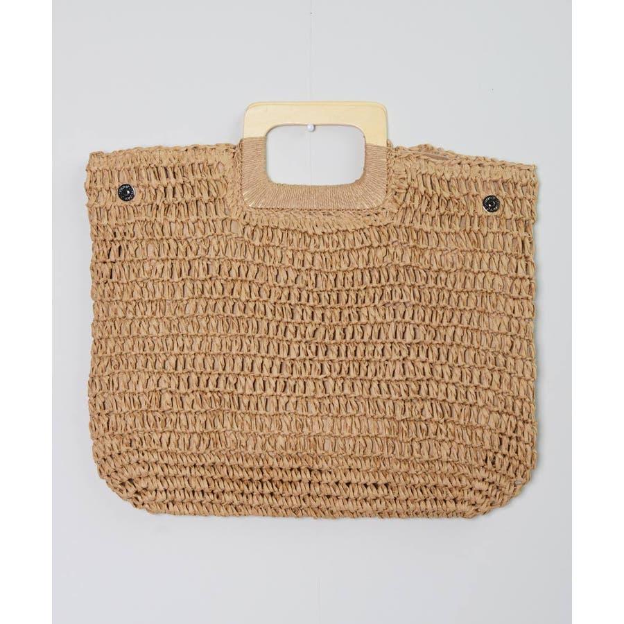 秋新作 ペーパーハンドバッグ バッグ 鞄 ペーパー かご ミニバッグ ハンド シンプル コンパクト ミニ 韓国ファッション レディース 5