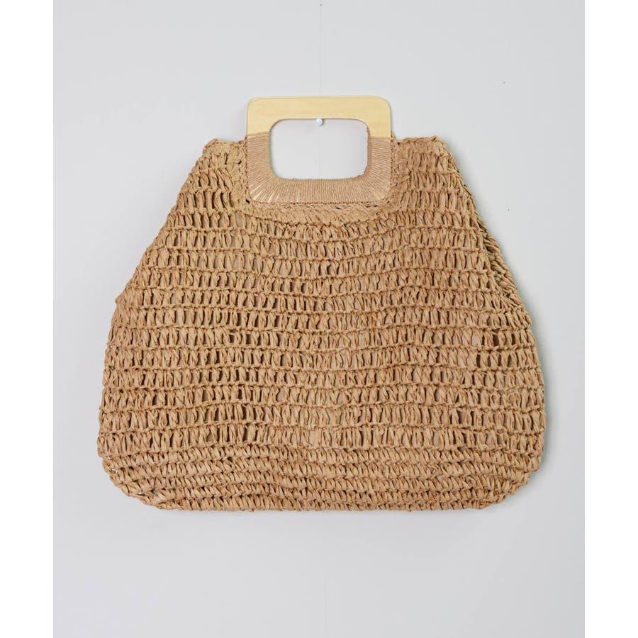 秋新作 ペーパーハンドバッグ バッグ 鞄 ペーパー かご ミニバッグ ハンド シンプル コンパクト ミニ 韓国ファッション レディース 6