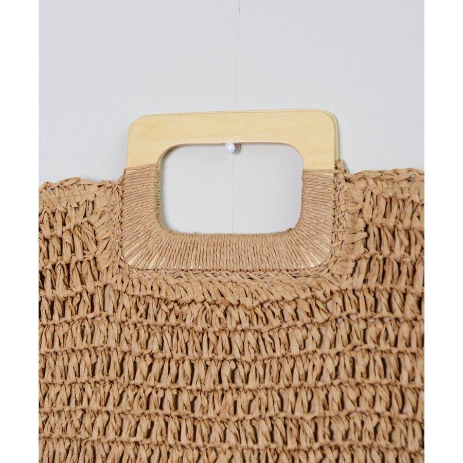 秋新作 ペーパーハンドバッグ バッグ 鞄 ペーパー かご ミニバッグ ハンド シンプル コンパクト ミニ 韓国ファッション レディース 7