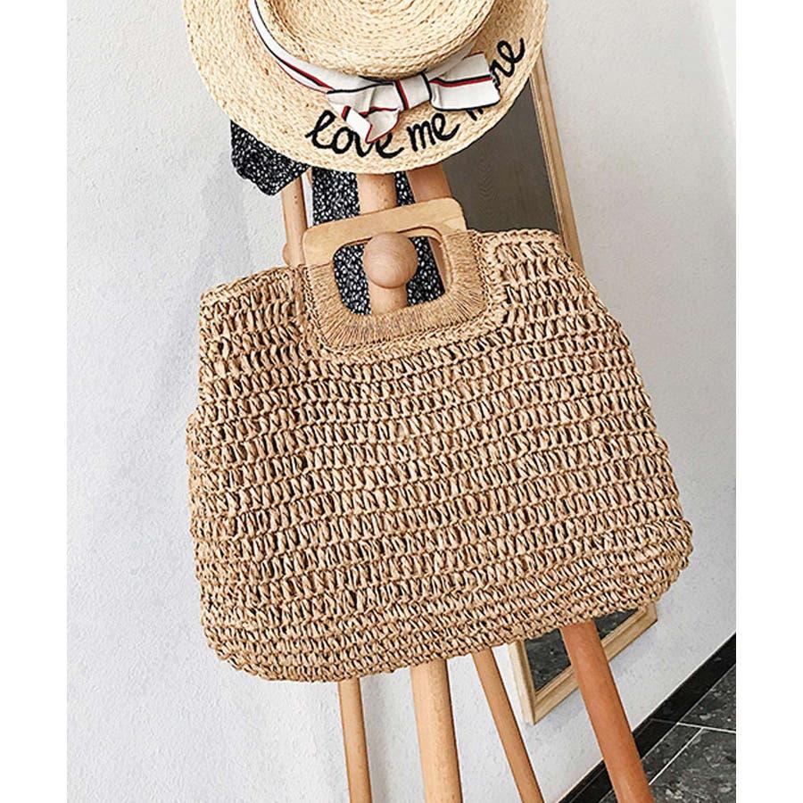 秋新作 ペーパーハンドバッグ バッグ 鞄 ペーパー かご ミニバッグ ハンド シンプル コンパクト ミニ 韓国ファッション レディース 29