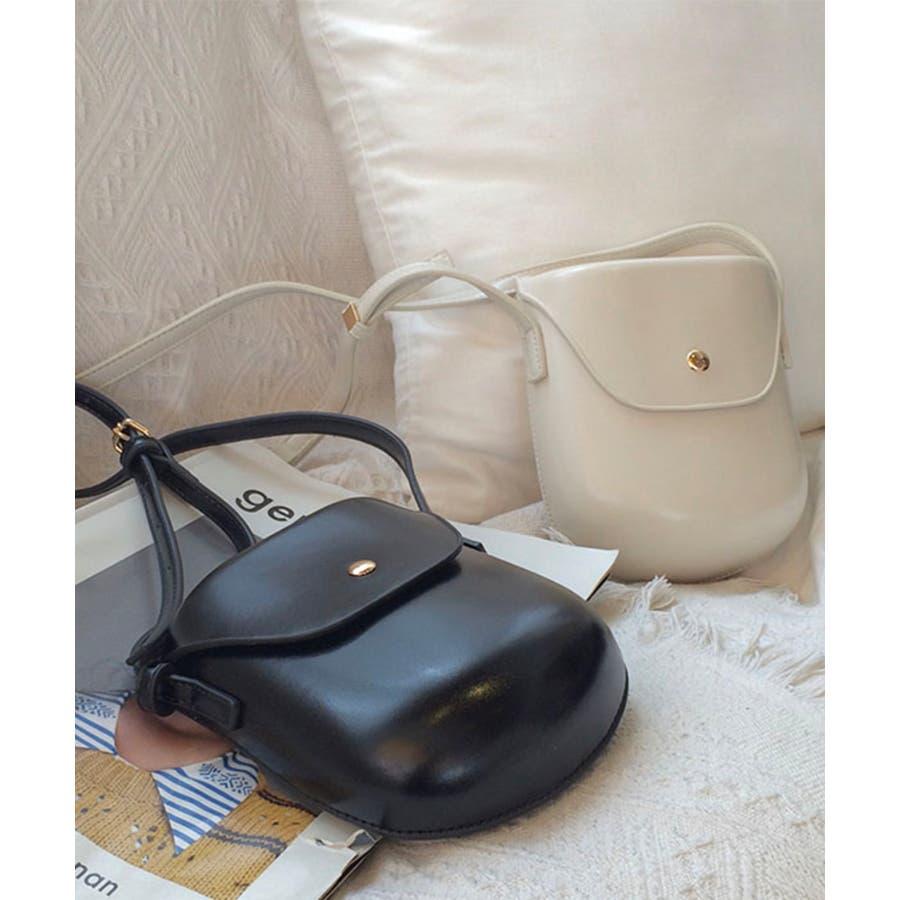 秋新作 レザー調ミニポシェット バッグ 鞄 ショルダー ポシェット レザー調 シンプル レディース 韓国ファッションInstagram 8