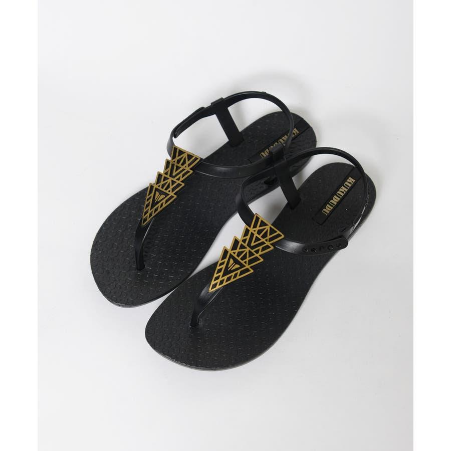 春新作 トングサンダル 靴 2
